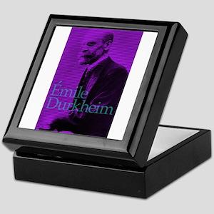 Emile Durkheim Keepsake Box