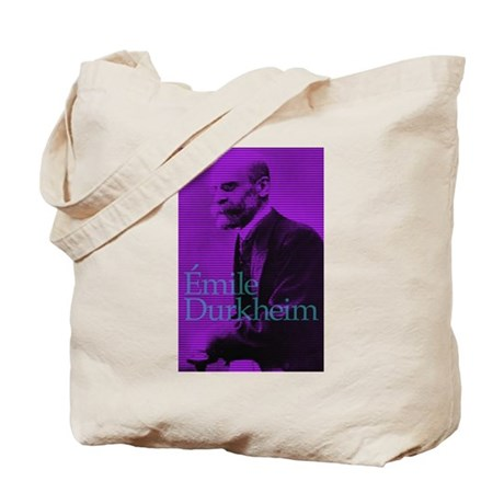 ea1148989531 Emile Durkheim Tote Bag by gadflycreations