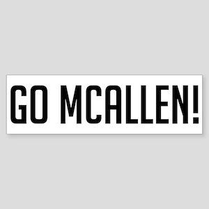 Go McAllen! Bumper Sticker