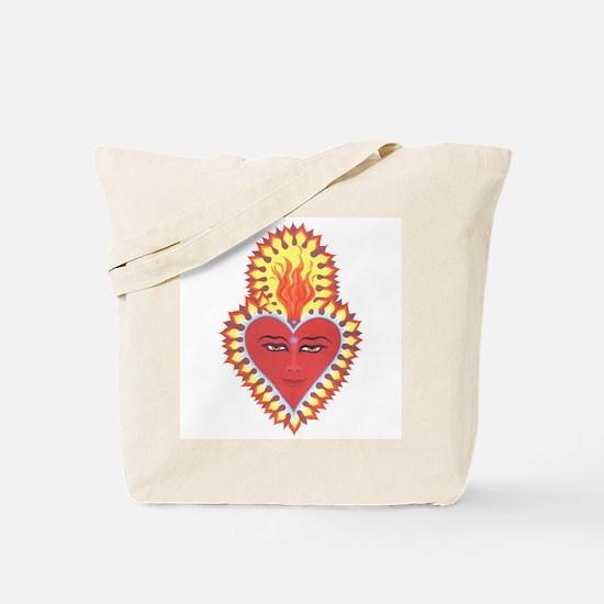 Sacred Heart of Buddah Tote Bag