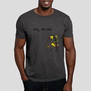 crazy and arts Dark T-Shirt