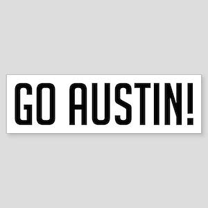 Go Austin! Bumper Sticker