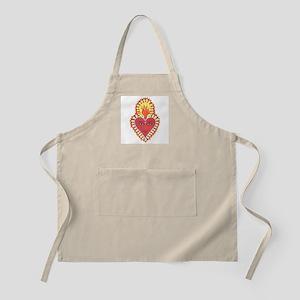 Sacred Heart of Buddah BBQ Apron