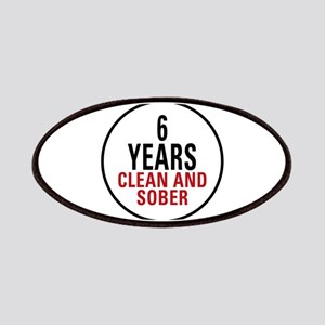 6 Years Clean & Sober Patches