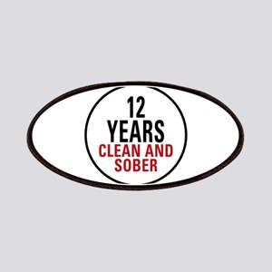 12 Years Clean & Sober Patches