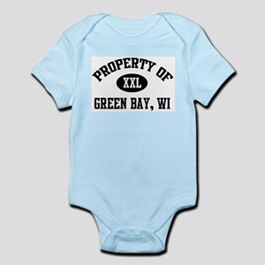 Property of Green Bay Infant Creeper