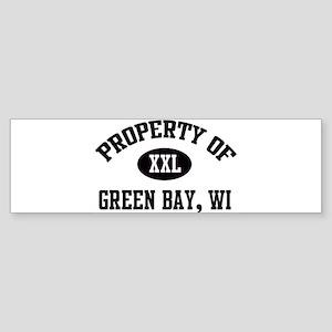 Property of Green Bay Bumper Sticker