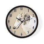 Borzoi Wall Clock
