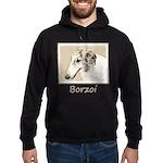 Borzoi Hoodie (dark)