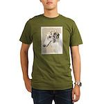 Borzoi Organic Men's T-Shirt (dark)