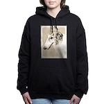 Borzoi Women's Hooded Sweatshirt