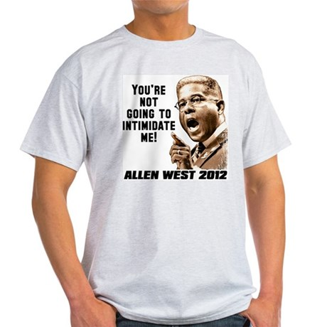 Allen West - Intimidate Light T-Shirt