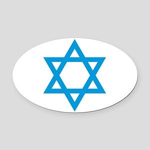 Israel - Star of David Oval Car Magnet