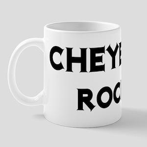 Cheyenne Rocks! Mug