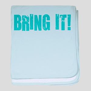 bring it! baby blanket