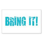 bring it! Sticker (Rectangle 50 pk)