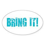 bring it! Sticker (Oval 50 pk)