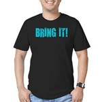 bring it! Men's Fitted T-Shirt (dark)