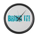 bring it! Large Wall Clock