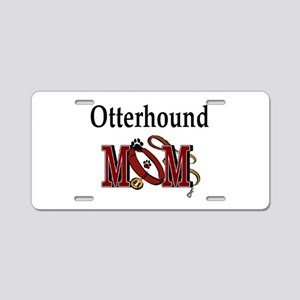 Otterhound Gifts Aluminum License Plate