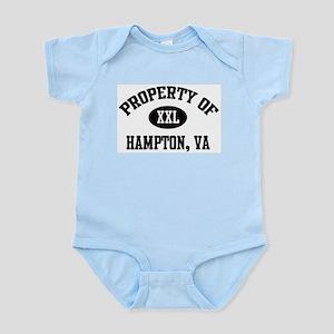 Property of Hampton Infant Creeper