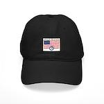 Rock of the Marne/Flag Black Cap