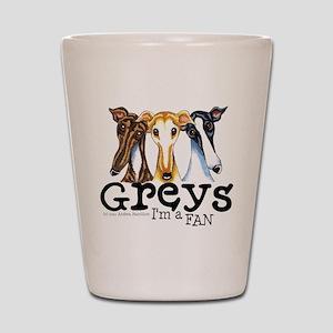 Greys Fan Funny Shot Glass