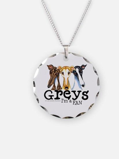 Greys Fan Funny Necklace