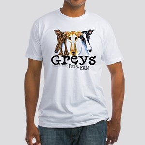 Greys Fan Funny Fitted T-Shirt