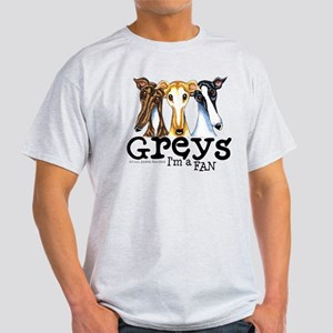 Greys Fan Funny Light T-Shirt