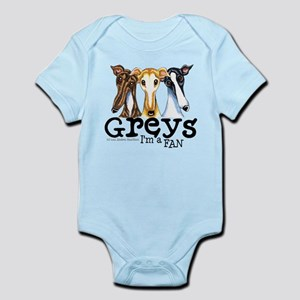 Greys Fan Funny Infant Bodysuit