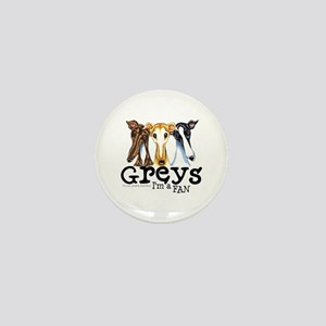 Greys Fan Funny Mini Button