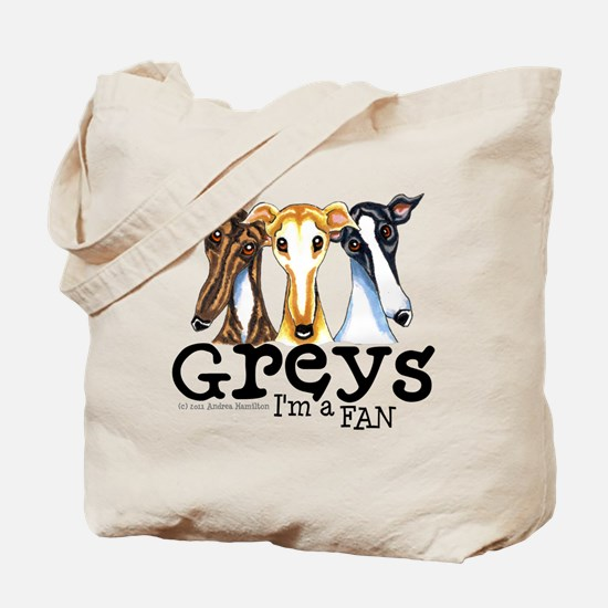 Greys Fan Funny Tote Bag