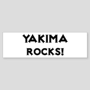Yakima Rocks! Bumper Sticker