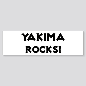 Yakima Rocks! Bumper Sticker