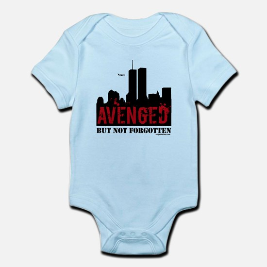 9/11 avenged not forgotten Infant Bodysuit