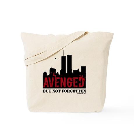 9/11 avenged not forgotten Tote Bag
