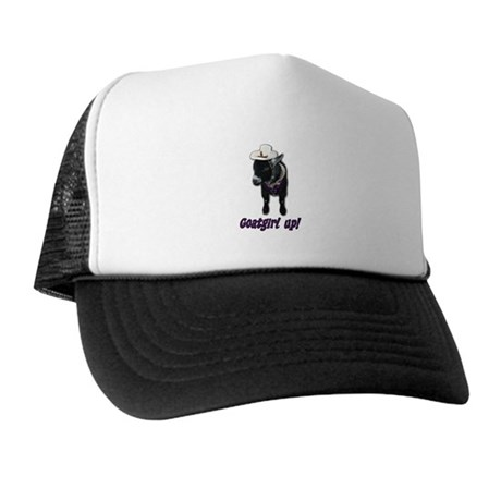 Pygmy Goat Girl Up Trucker Hat