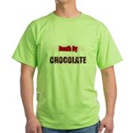 death by chocolate Green T-Shirt