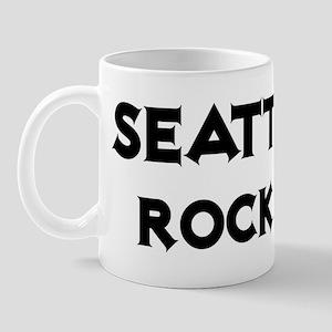 Seattle Rocks! Mug