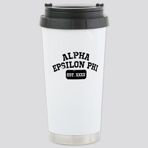 Alpha Epsilon Phi 16 oz Stainless Steel Travel Mug