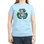 stop waste recycle Women's Light T-Shirt