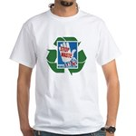 stop waste recycle White T-Shirt