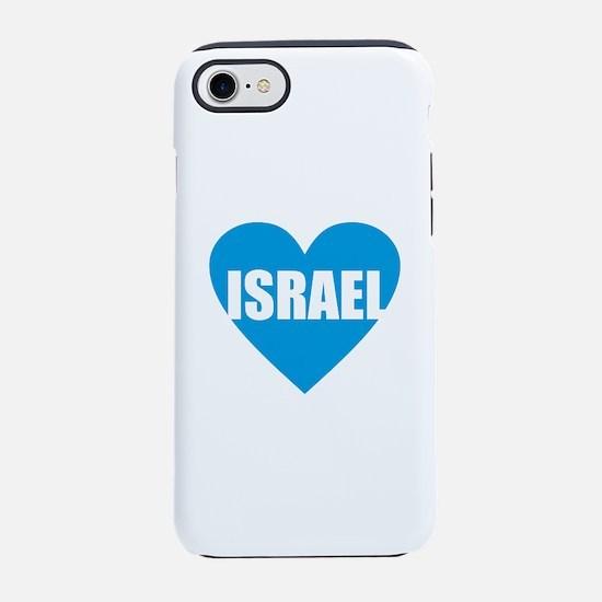 Israel - Blue Heart iPhone 7 Tough Case
