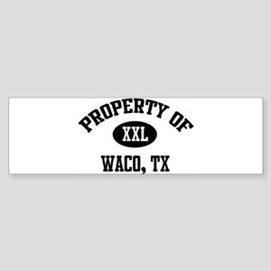 Property of Waco Bumper Sticker