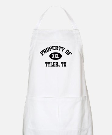Property of Tyler BBQ Apron