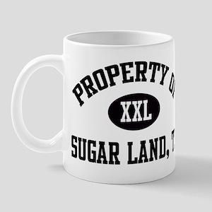 Property of Sugar Land Mug