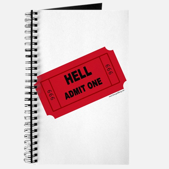 Ticket To Hell Journal