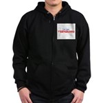ive got tigersblood Zip Hoodie (dark)