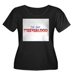 ive got tigersblood Women's Plus Size Scoop Neck D